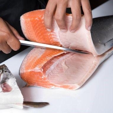 image-Fisch filetieren