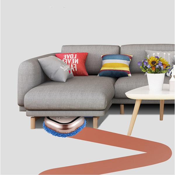 image-Reinigen Sie den Boden, wenn Sie nicht zu Hause sind!