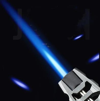 image-Starke blaue Flamme
